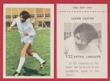 Leeds United Peter Lorimer Scotland